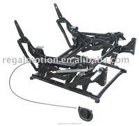 zerowall recliner mechanism