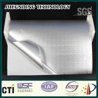 Antiglare construction requirements High performance acrylic solvent pressure sensitive adhesive Embossed Aluminum Foil Cladding