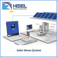 HiSEL Pure sine wave hybrid solar inverter MPPT high power solar inverter and solar panel
