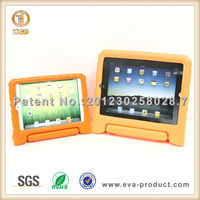 Kids friendly for portable apple ipad 4 and ipad mini stand case