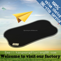 cheap rubber bar mats with rubber logo customized