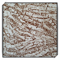 Leather look raw material polyester bronzed velvet for furniture