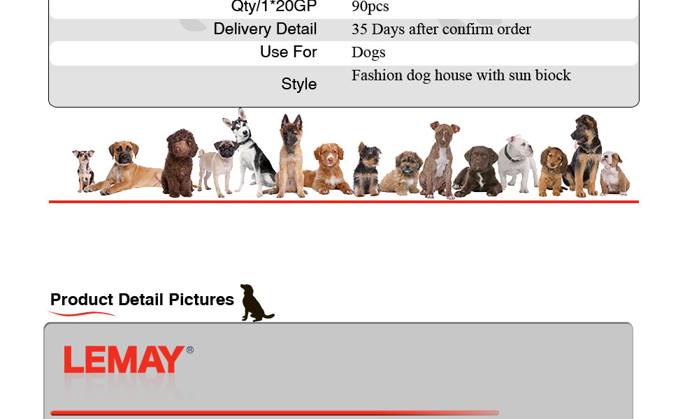 Hot sale7.5x13x6ft high quality outdoor cheap chain link large dog house