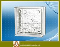 Top selling natural small glass bricks block