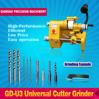 U3 Universal cutter grinder knife tool drill bit and end mill sharpening machine