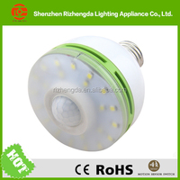 China ShenZhen 360 degree 6w led bulb light pir sensor led bulb
