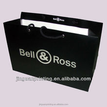 High quality Branded Retail environmental shopping Paper bag with Your Own Logo