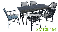 rattan furniture guangzhou dining chairs and table