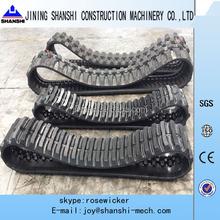 Kubota combine harvester rubber track,Kubota excavator rubber shoe,KX41,KX91,KX121, KX135, KX161, KX161, 450x90 rubber track