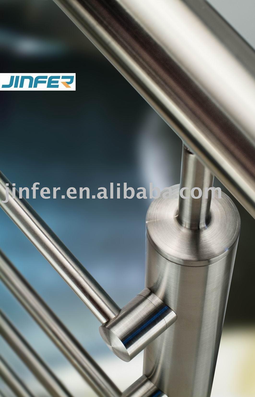 Balcony balustrade stainless steel railing