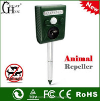 pigeon traps Ultrasonic Dog Cat Bird Repeller GH-191B