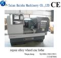 Hs-ck6166a automática automática grau e do tipo horizontal rodas de liga leve torno cnc- diamante de corte- máquina