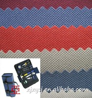 Polyester waterproof tear resistant PVC/PU coated oxford fabric for bag