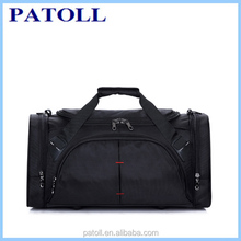 China wholesale pu outdoor foldable travel bag set,travel leather duffle bag