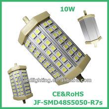 10w 118mm llevó la luz r7s