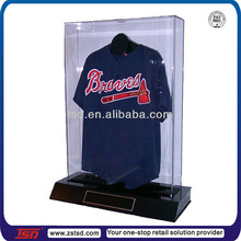 TSD-A544 acrylic display cases wholesale,China factory customized clear acrylic jersey display case