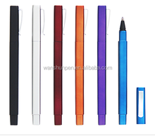 plastic square shape ball point pen new looking