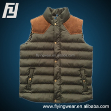 Men Winter Cotton Windproof Outwear Waistcoat, Vest Stock