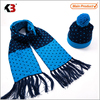 2016 Kids wool winter hat and scarf set knit baby hat and scarf mitten scarf