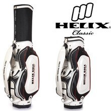 Helix design your own golf bag with wheels /professional golf bag with wheels/ kasco golf bag manufacture supply golf bag