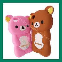 2015 cute charm 3D panda silicone phone case