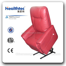 rotem leder elektrische verstellbares sofa sessel
