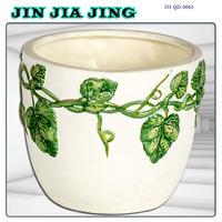 bright color ceramic flower pot