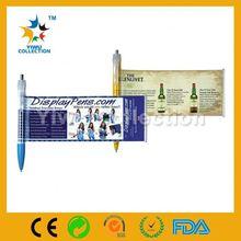 metal titanium alloy promotional pen,ballpen for promotion,folding ballpoint pen