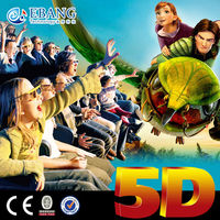 Dynamic 5D Cinema for sale 5D Simulator,Exciting 5D Cinema Equipment