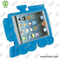 train shape mini hard tablet case/OEM hard case for tablet