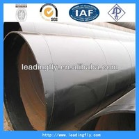 Super quality most popular ssaw spiral steel tubes drain