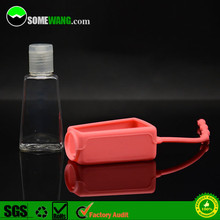 China hot sale animal shaped silicone holder, 30ml 1oz empty hand sanitizer bottle