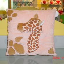 Long head giraffe plush soft cushion and pillow toy