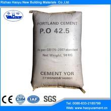 Rizhao Haoyu portland cement 42.5
