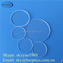 High quality clear heat resistant arch quartz plate
