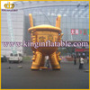 inflatable model giant inflatable advertising gold model
