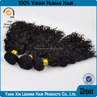 most fashion BV certified virgin remy natural color unprocessed curly perm for black hair