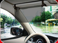 Anti glare clip on sunshade front window car sun visor shield extension for driving