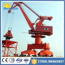 Hydraulic portal mobile crane for port