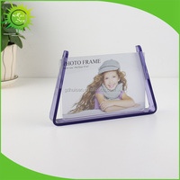 Creative Acrylic Detachable Photo Picture Frames with bottom base for home
