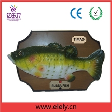 Unique Big Mouth Billy Bass Bubba Fish,electric simulation fish