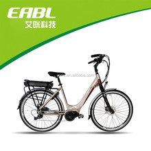 Female style 8fun 250w mid drive motor electric bike(Torque sensor assistant system )