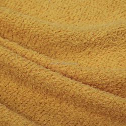 Natural coral fleece fabric