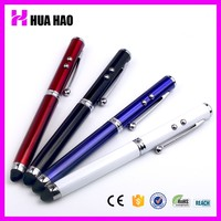 Alibaba china 4 in 1 stylus ball pen/smartphone stylus touch pen /Advertising logo pen for promotion