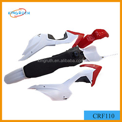 CRF110 plastic for dirt bike CRF110 pit bike Chinese high quality motorcycle plastic body kits