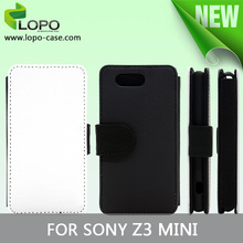 Sublimation wallet case for Sony Z3 Compact