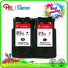 ink visible!remanufactured inkjet cartridge for Canon PG810 CL811XL china supplier