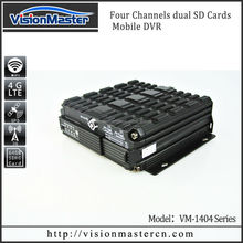 4 Channels the new Mdvr car dvr camera camcorder FOR VEHICLE