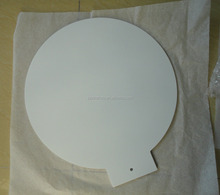 newest special ball shape white chalkboard decoration