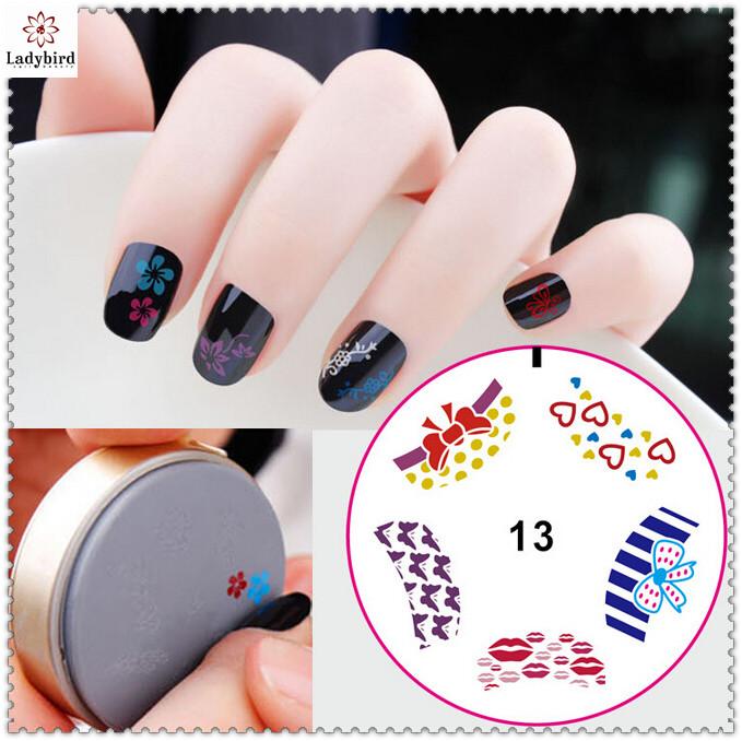 Nail Art Tool Silicone Nail Plate Stamping Diy Nail Art Plate - Buy ...